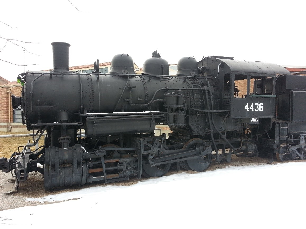 Figure 2:  Provided by G. Wayne Maltry from National Railroad Museum, Ogden, UT.