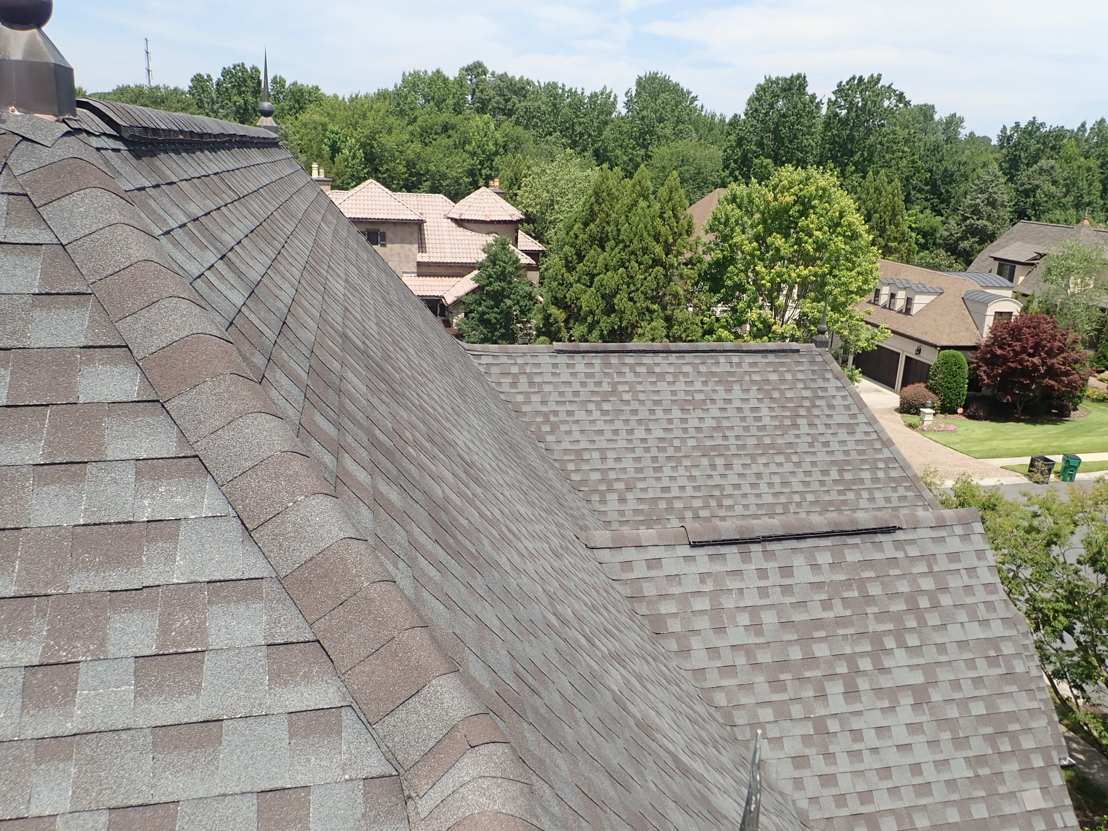 Steep Roof Pitch