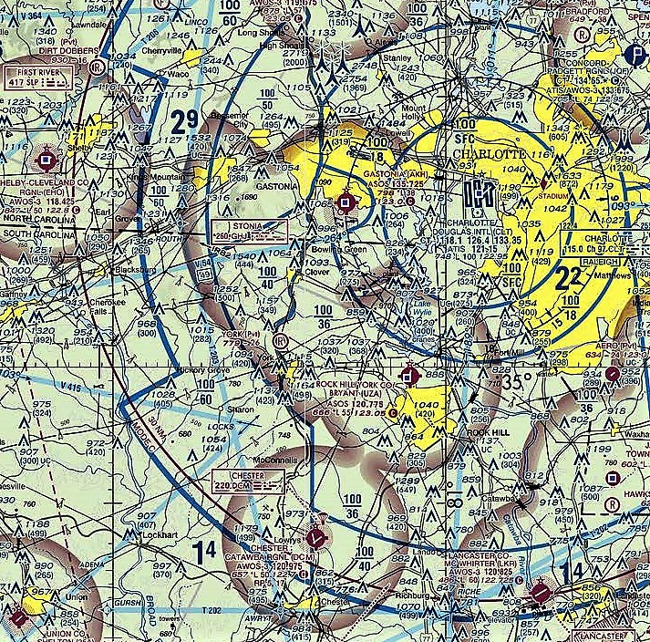 Digital Aeronautical Charts