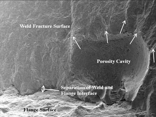 Weld Fracture Surface